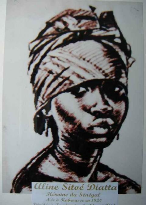 Aline Sitoe Diatta, Reine de Cabrousse, Casamance