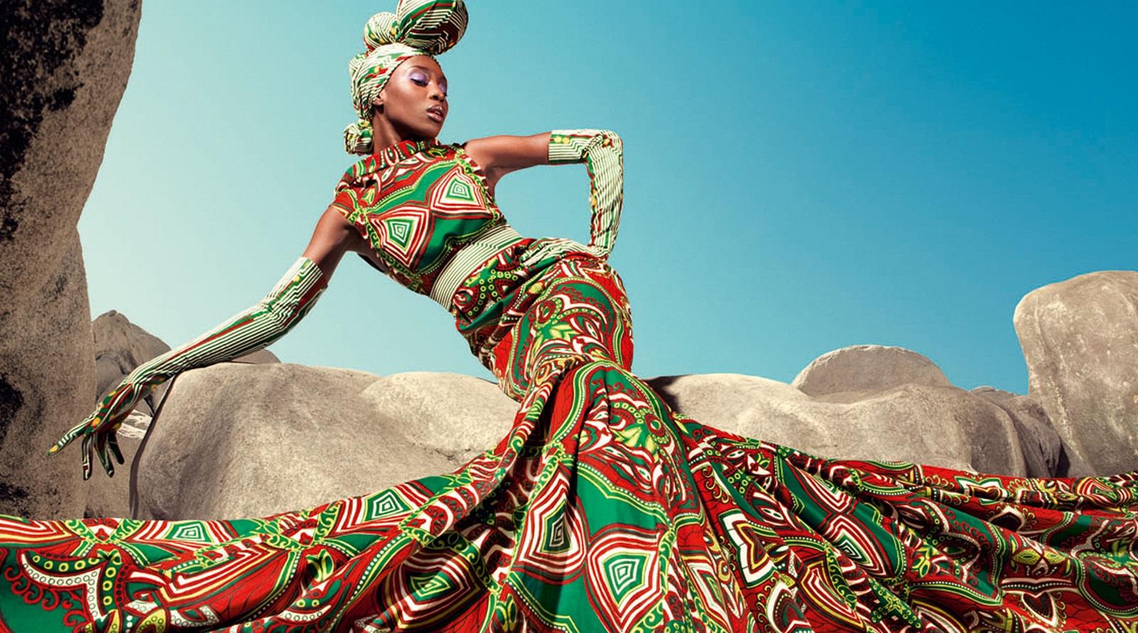 Extraordinaire Pagne africain: une tendance vers l'internationalisation  FG87