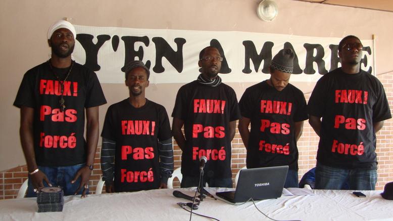 Y'en A Marre arrêté à Kinshasa