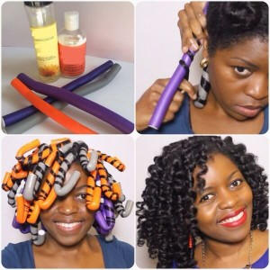 Application des flexi-rods