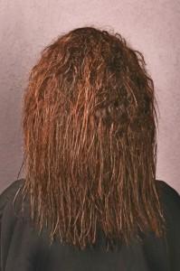 Cheveux sur-défrisés
