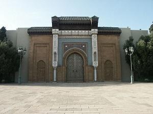 Portes du Palais Royal à Casa