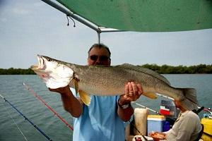 Pêche sur le fleuve