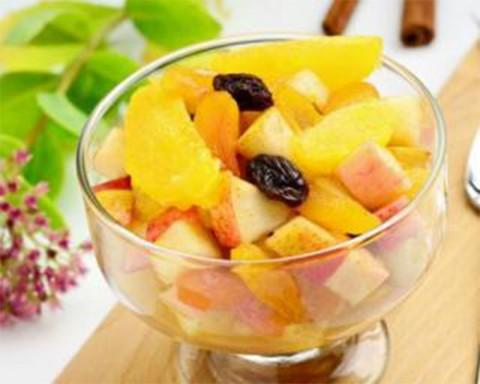 Pochade de fruits aux amandes – spécial détox