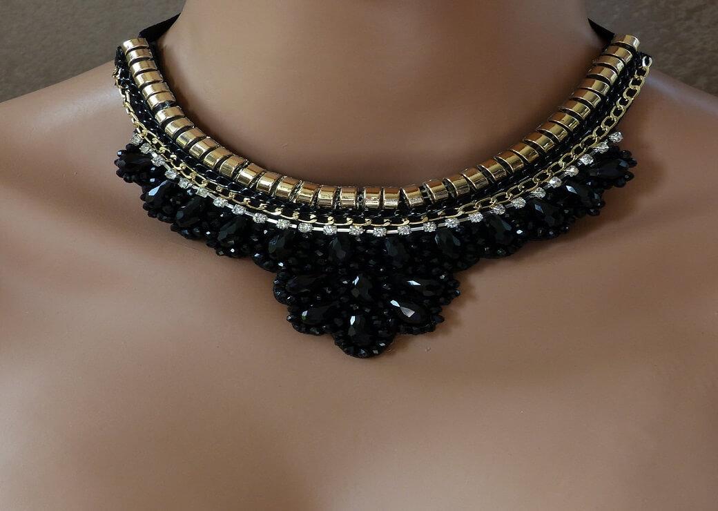 collier fantaisie moderne