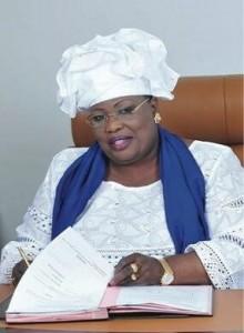 Mme Aminat Mbengue Ndiaye Ministre de l'Elevage