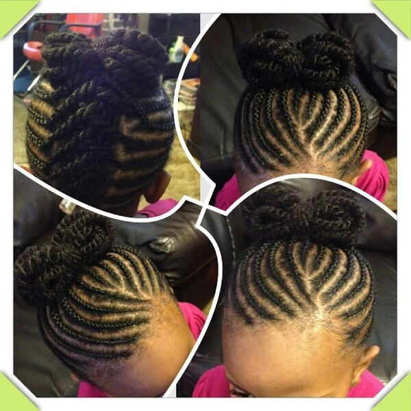 african american child hairstyles : Apprenez ? tresser vos princesses ! Debbosenegal