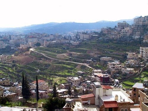 la ville de Bethlem
