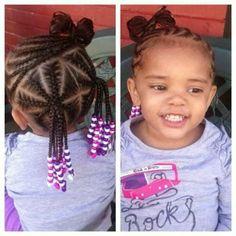 coiffure petites filles. idees tresses