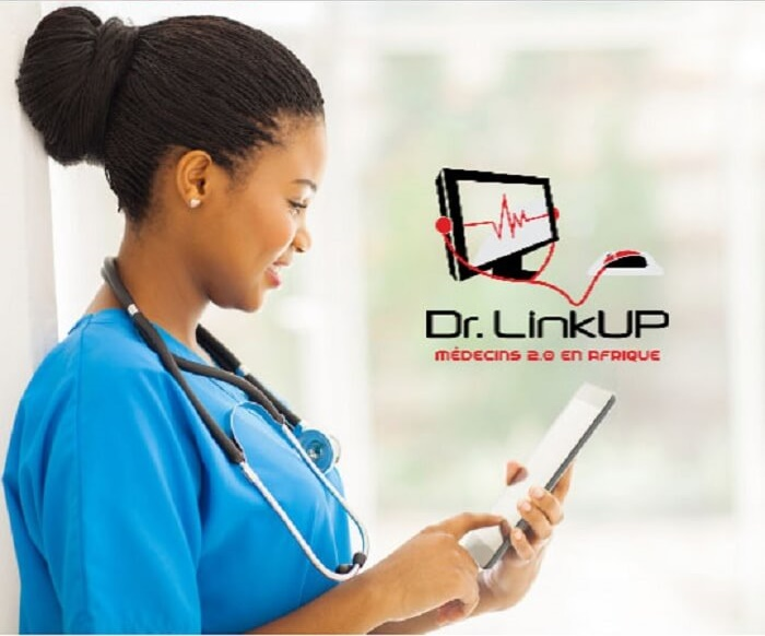 Doctor using Dr Linkup