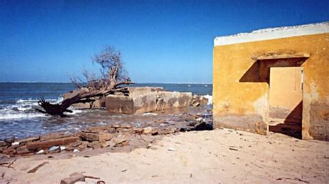 A Gandiol, la mer gagne la bataille du terrain