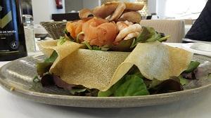 une salade bien espagnole