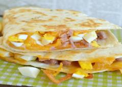 Ce dimanche on brunch avec des Quesadillas !