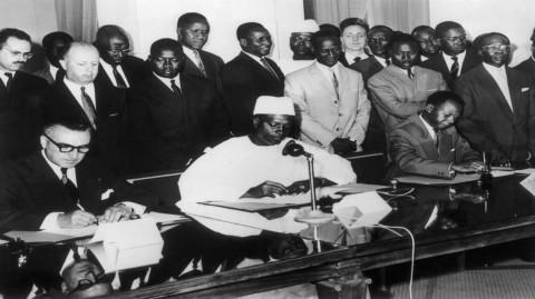 Histoire du Sénégal: l'éclatement de la Fédération du Mali
