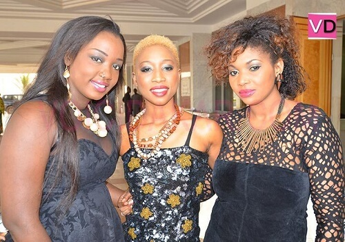 Trois jeunes femmes talentueuses, belles et ambitieuses