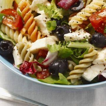 la salade de pâtes ? Une bonne idée recette du week-end...