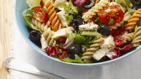 la salade de pâtes ? Une bonne idée recette du week-end…