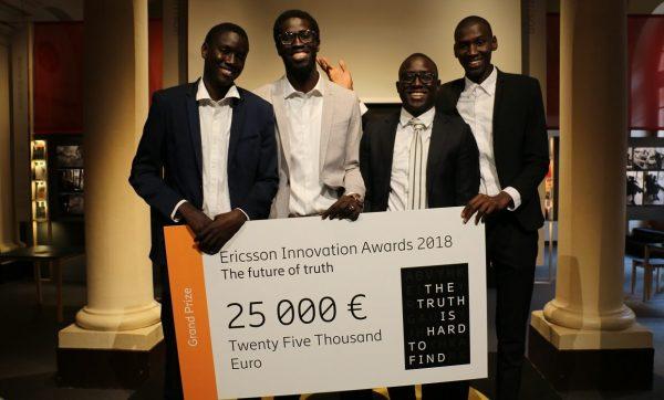 Le Sénégal remporte le premier prix : Ericsson Innovation Awards 2018 !